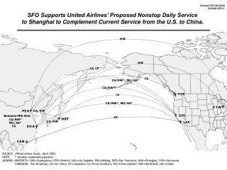 SOURCE:  Official Airline Guide,   April 1999 . NOTE:     * denotes codesharing partner.