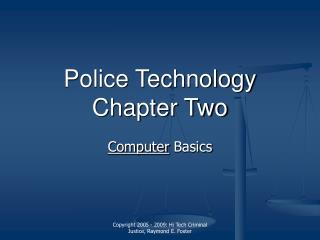 Chapter Two - Computer Basics