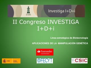 II Congreso INVESTIGA I+D+i