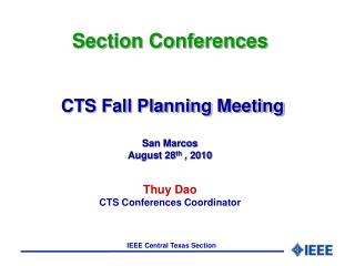 CTS Guidelines