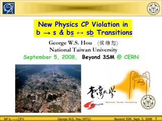 New Physics CP Violation in  b  →  s & b s ↔  s b  Transitions