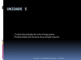 UNIDADE  5