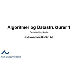 Algoritmer og Datastrukturer 1
