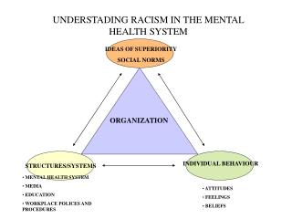 UNDERSTADING RACISM IN THE MENTAL HEALTH SYSTEM