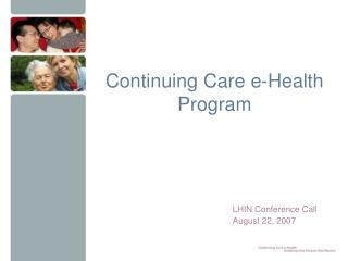 Continuing Care e-Health Program