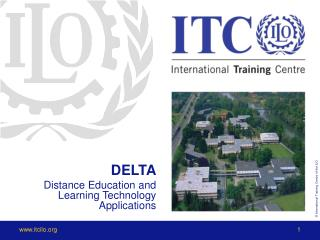 DELTA Distance Education and Learning Technology Applications