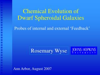 Chemical Evolution of Dwarf Spheroidal Galaxies