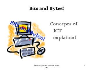 BITS  BYTES - GENERAL CONCEPTS OF ICT