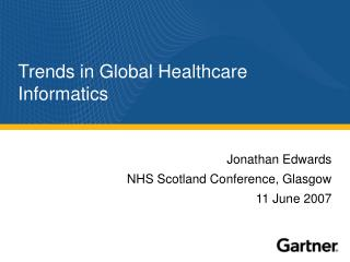Trends in Global Healthcare Informatics