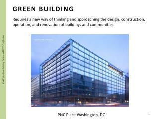 CMGT 380 Green Building Practices and LEED Certification