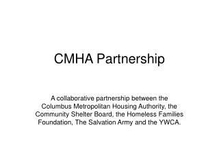 CMHA Partnership