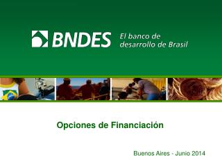 Opciones de Financiación