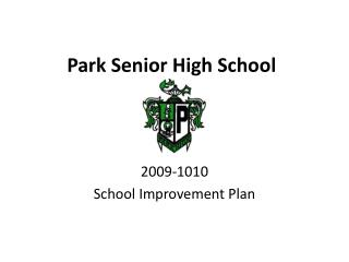 Park Senior High School