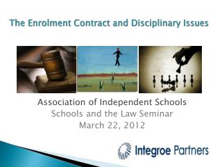 The Enrolment Contract and Disciplinary Issues