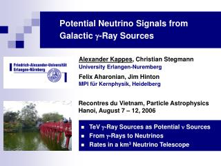 Potential Neutrino Signals from Galactic   -Ray Sources