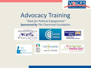 "Advocacy Training  ""Tools for Political Engagement"" Sponsored by  The Chartrand Foundation"