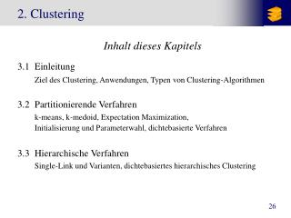2. Clustering