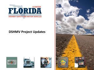 DSHMV Project Updates