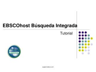 EBSCOhost Búsqueda Integrada