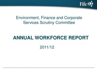 ANNUAL WORKFORCE REPORT
