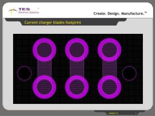 Current charger blades footprint