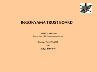 INGONYAMA TRUST BOARD