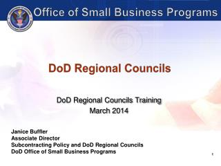 DoD Regional Councils
