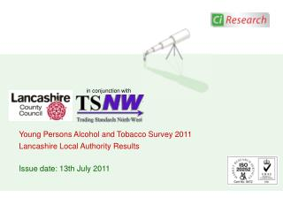 Young Persons Alcohol and Tobacco Survey 2011 Lancashire Local Authority Results