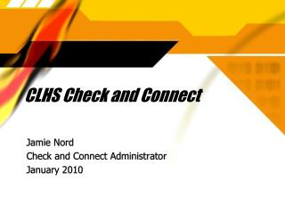CLHS Check and Connect