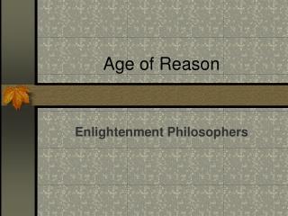 Age of Reason
