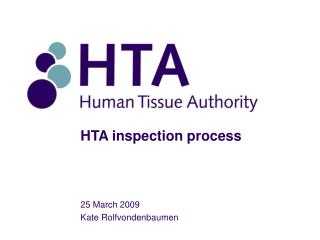HTA inspection process