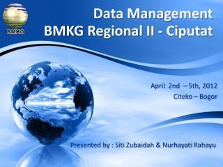 April  2nd  – 5th, 2012 Citeko  – Bogor