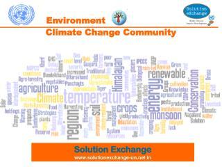 Climate Change Community