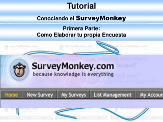 Conociendo el  SurveyMonkey