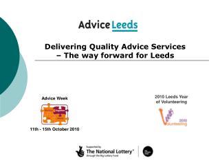 2010 Leeds Year of Volunteering