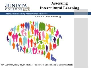 Assessing  Intercultural Learning