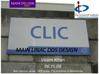 MAIN LINAC DDS DESIGN
