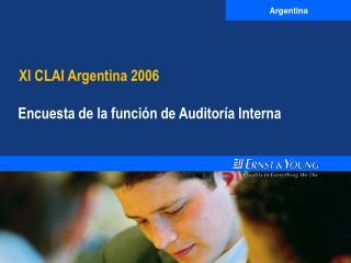 XI CLAI Argentina 2006