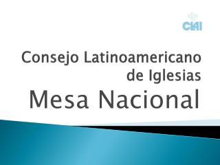 Consejo Latinoamericano de Iglesias