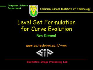 Level Set Formulation for Curve Evolution