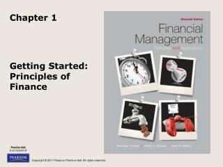 Getting Started:  Principles of Finance