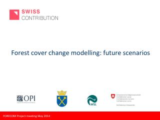 Forest cover change modelling: future scenarios