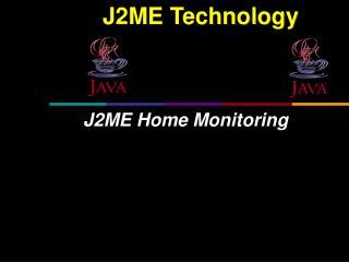 J2ME Technology