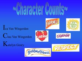 ~Character Counts~