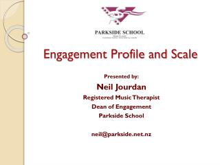 Engagement Profile and Scale