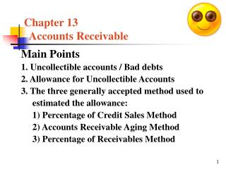 Chapter 13     Accounts Receivable