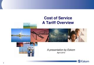 Cost of Service A Tariff Overview