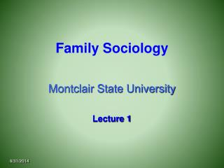 Family Sociology