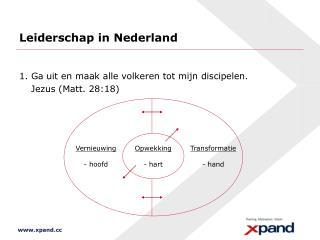 Leiderschap in Nederland