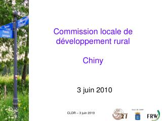 Commission locale de développement rural Chiny